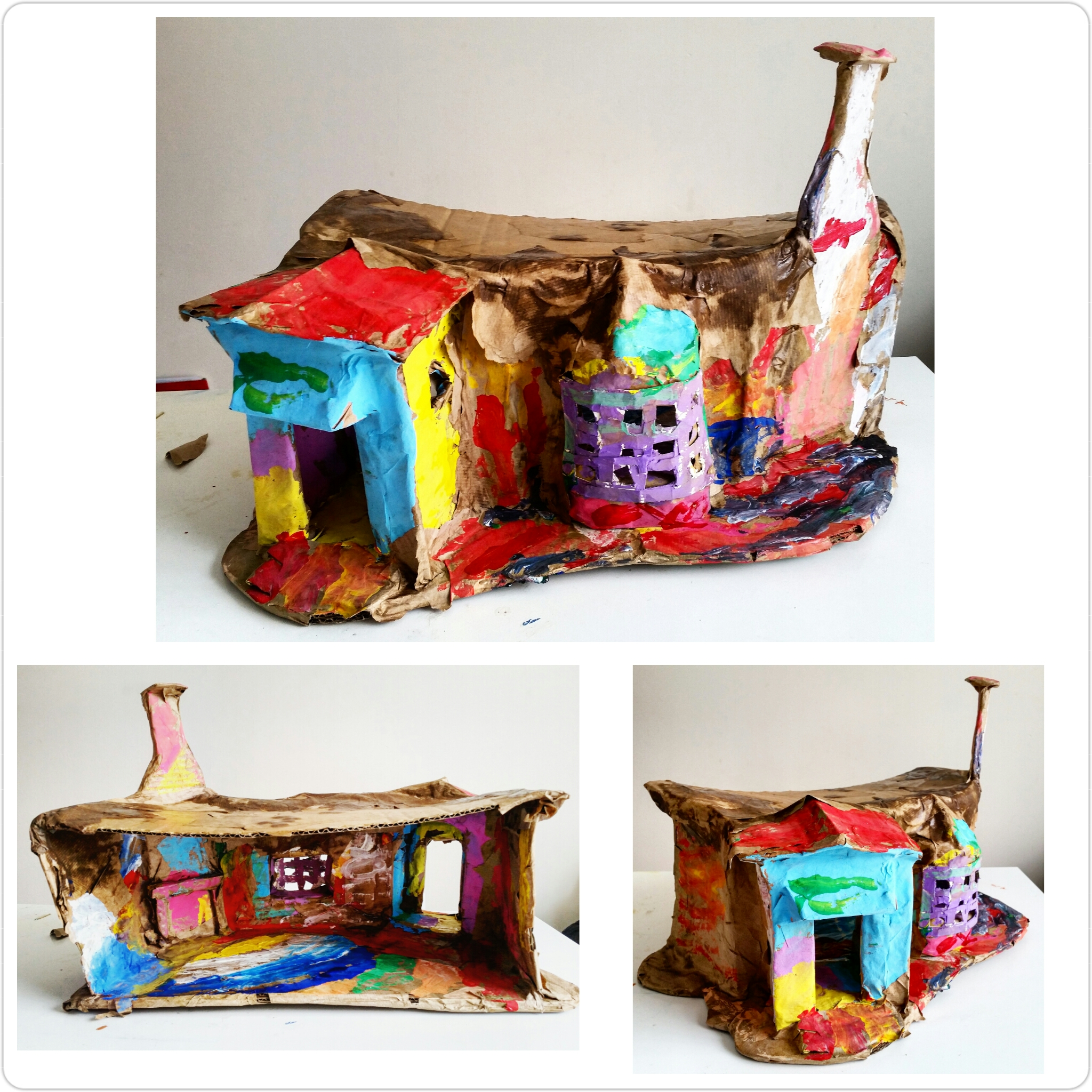 Sylvanian Families Make Your Own Mole House Art And